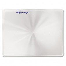 """2x Magna-Page Full-Page Magnifier W/molded Fresnel Lens, 8 1/4"""" X 10 3/4"""""""
