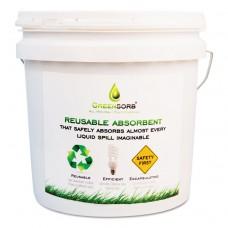 Eco-Friendly Sorbent, 10 Lb Bucket