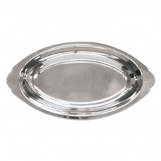 Oval Au Gratin, Stainless Steel