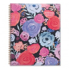ACADEMIC PLANNERS, 11 X 8 1/2, MIDNIGHT ROSE, 2018-2019