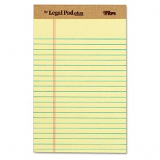 """""""THE LEGAL PAD"""" RULED PADS, NARROW, 5 X 8, CANARY, 50 SHEETS, DOZEN"""