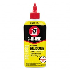 3-In-One Professional Silicone Lubricant, 4 Oz Bottle