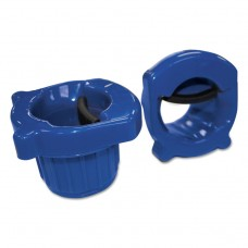 """Hand Core Dispenser For Stretch Film Rolls 12"""" To 18"""" Wide, Blue"""