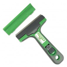 """Maxiscraper Without Blade, Green Plastic, For Use With Standard 4"""" Blades, 10/pk"""