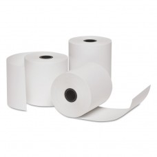 """Carbonless Paper Rolls, 3"""" X 150 Ft, 1-Ply, 50 Rolls/ct"""