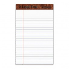 """""""THE LEGAL PAD"""" RULED PADS, NARROW, 5 X 8, WHITE, 50 SHEETS, DOZEN"""