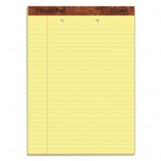 """""""THE LEGAL PAD"""" RULED PADS, LEGAL/WIDE, 8 1/2 X 11 3/4, CANARY, 50 SHEETS, DOZEN"""