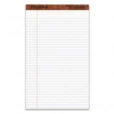 """""""THE LEGAL PAD"""" RULED PADS, LEGAL/WIDE, 8 1/2 X 14, WHITE, 50 SHEETS, DOZEN"""