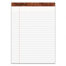 """""""THE LEGAL PAD"""" RULED PADS, LEGAL/WIDE, 8 1/2 X 11 3/4, WHITE, 50 SHEETS"""