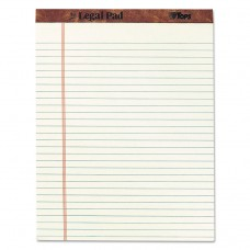"""""""THE LEGAL PAD"""" RULED PADS, LEGAL/WIDE, 8 1/2 X 11 3/4, GREEN TINT, 50 SHEETS"""