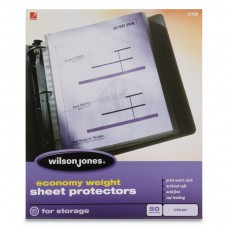 Economy Weight Top-Loading Sheet Protectors, Letter, 50/box