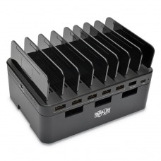 """CHARGING STATION WITH CABINET, FOR 7 DEVICES, 4.9"""" X 2.6"""" X 6.6"""""""