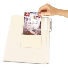 Peel & Stick Photo Holders, 4 3/8 X 6 1/2, Clear, 10/pack