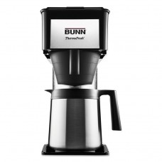 10-Cup Velocity Brew Bt Thermal Coffee Brewer, Black, Stainless Steel