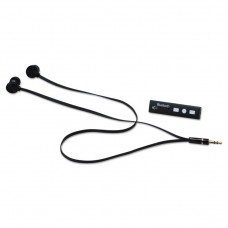 Earbuds With Bluetooth Converter, Black