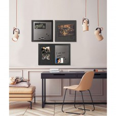 Black Shadow Message Board Set, Assorted Sizes & Colors, 3/set