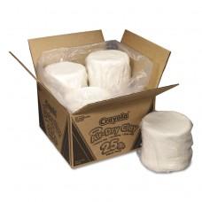 AIR-DRY CLAY, WHITE, 25LB BOX