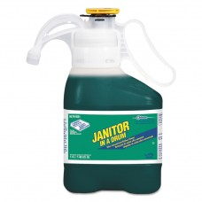 Janitor In A Drum Ultra Conc. Kitchen Cleaner, Pine Scent,1.4l Bottle,2/ctn