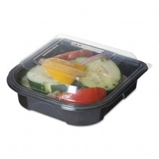 """100% Recycled Content 6"""" Premium Take Out Containers - 12.5oz., 50/pk, 3 Pk/ct"""