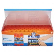 Clear School Glue Stick, Clear/clear, 8 G, 60 Per Pack