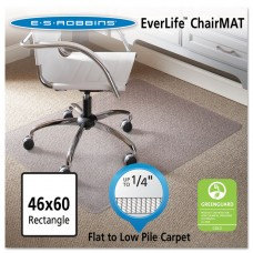 """46 X 60 Rectangle Chair Mat, Task Series Anchorbar For Carpet Up To 1/4"""""""