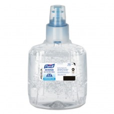 Advanced E3rated Instant Hand Sanitizer Gel, Fragrance-Free,1200ml Refill,2/ctn