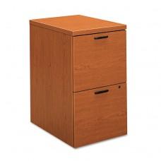 10500 Series File/file Mobile Pedestal, 15 3/4w X 22 3/4d X 28h, Bourbon Cherry