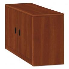 10700 Series Locking Storage Cabinet, 36w X 20d X 29 1/2h, Cognac
