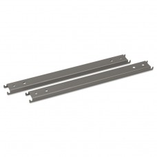 """Double Cross Rails For 42"""" Wide Lateral Files, Gray"""