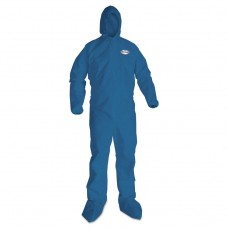 A20 Breathable Particle Protection Coveralls, 2x-Large, Blue, 24/carton