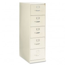 210 Series Five-Drawer, Full-Suspension File, Legal, 28-1/2d, Putty