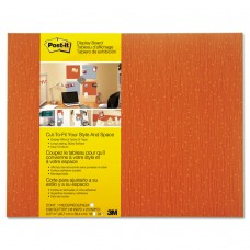 Cut-To-Fit Display Board, 18 X 23, Tangelo, Frameless
