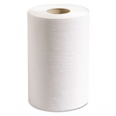 100% Recycled Hardwound Roll Paper Towels, 7 7/8 X 350 Ft, White, 12 Rolls/ct