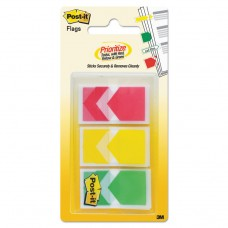 """Arrow 1"""" Prioritization Page Flags, Red/yellow/green, 60/pack"""