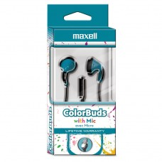Colorbuds With Microphone, Blue