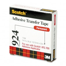 """Adhesive Transfer Tape Roll, 3/4"""" Wide X 36yds"""