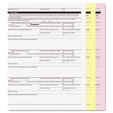 Digital Carbonless Paper, 8-1/2 X 11, Three-Part,white/canary/pink, 835 Sets/ct