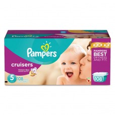 Cruisers Diapers, Size 5: 27 - 34 Lbs, 108/carton