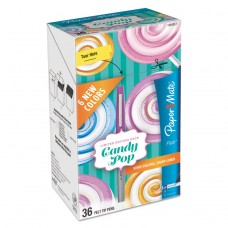 Flair Candy Pop, Assorted Ink, Ultra Fine, 36/pack