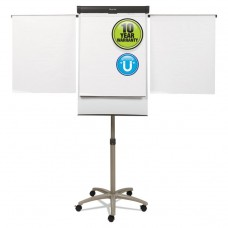 """COMPASS MOBILE PRESENTATION EASEL, HEIGHT: 64"""" TO 77"""", BOARD SIZE: 2 FT X 3 FT"""