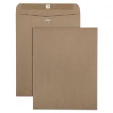 100% Recycled Brown Kraft Clasp Envelope, 10 X 13, Brown Kraft, 100/box