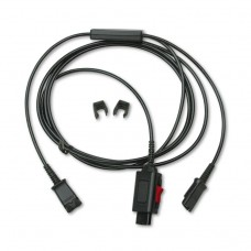 Adapter, Y Splitter For Training Purposes (2 People Can Listen)