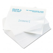 Postage Meter Double Tape Sheets, 4 X 5-1/2, 300/pack