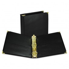 """Classic Collection Ring Binder, 11 X 8 1/2, 2"""" Cap, Black"""