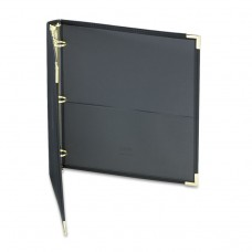 """Classic Collection Ring Binder, 11 X 8 1/2, 1"""" Cap, Black"""