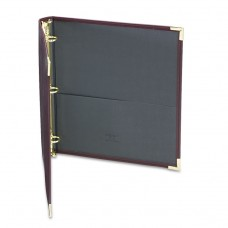 """Classic Collection Ring Binder, 11 X 8 1/2, 1"""" Cap, Burgundy"""