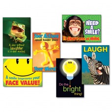 """""""Attitude & Smiles"""" Argus Poster Combo Pack, 6 Posters/pack"""