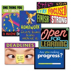 """""""Motivation"""" Argus Poster Combo Pack, 6 Posters/pack"""