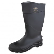 Ct Safety Knee Boot With Steel Toe, Black, Pair