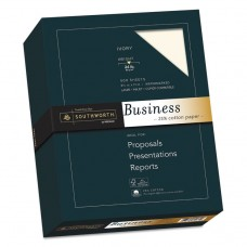 25% Cotton Business Paper, 24lb, 95 Bright, Ivory, 8 1/2 X 11, 500 Sheets
